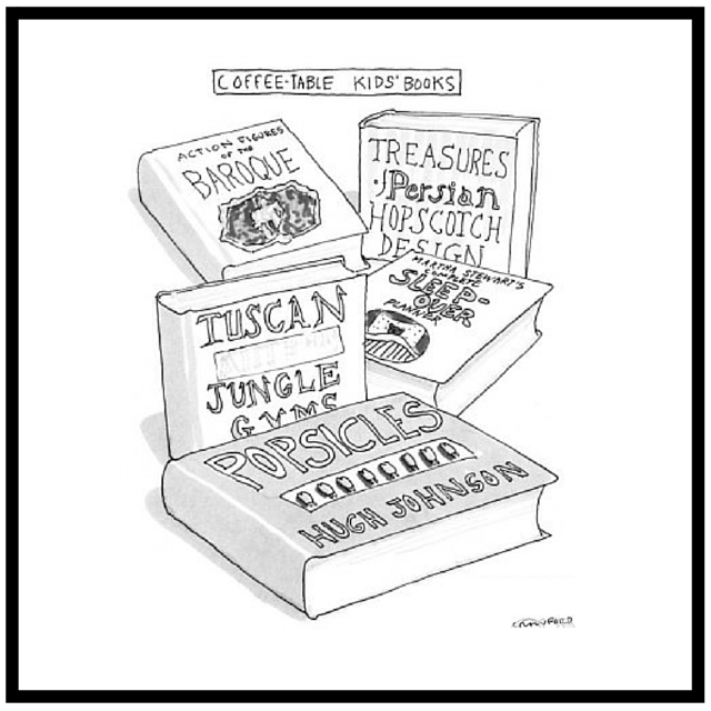 New Yorker Cartoon on Books Crawford