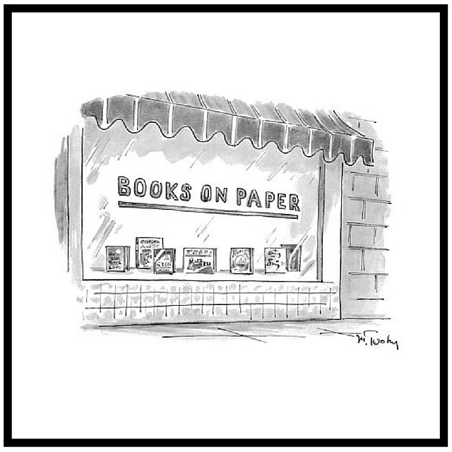 New Yorker Cartoon on Books Twohy