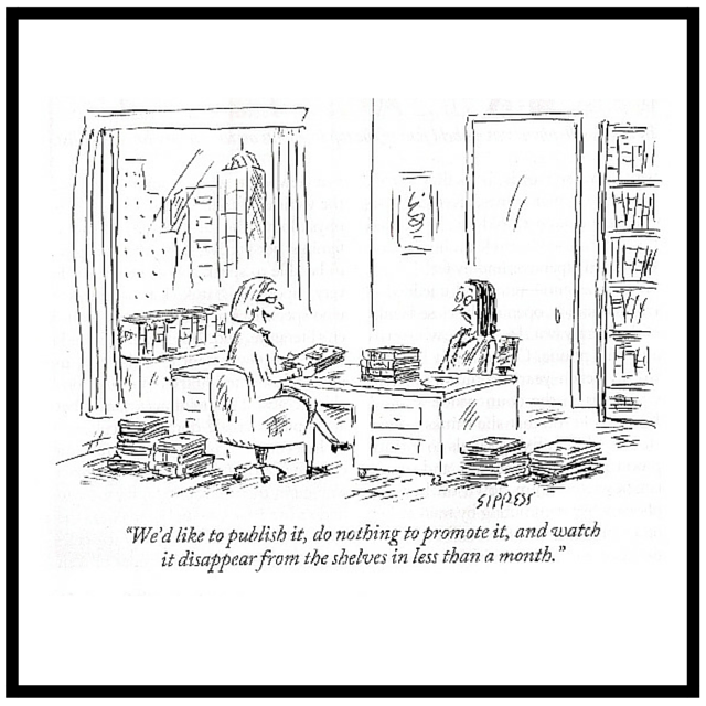 New Yorker Cartoon on publishing Sipress