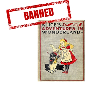 Alices Adventures in Wonderland Banned Book