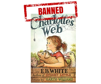 Charlottes Web Banned Book