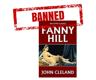 Fanny Hill Last book banned in US