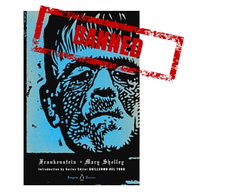 Frankenstein Banned Book