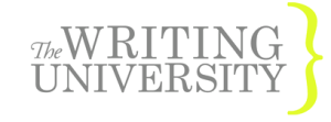 The Writing University Podcast Logo