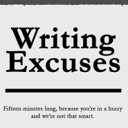 Writing Excuses podcast for writers